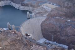 Hoover Dam von oben