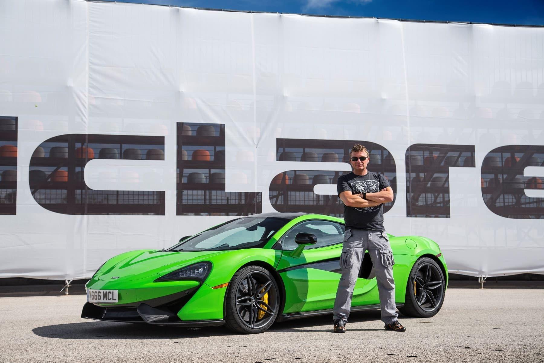 McLaren 570S Portimao mit Dietmar Stanka