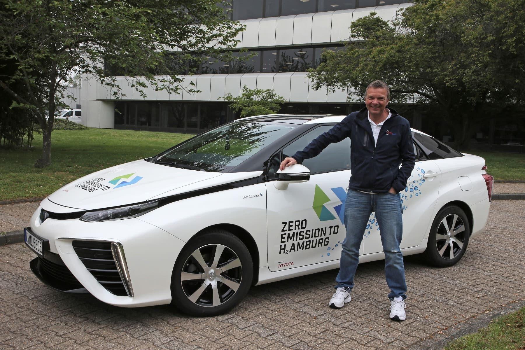 Dietmar Stanka + Toyota Mirai